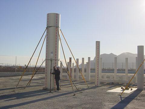 картонная опалубка для колонн