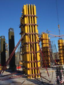 балочно ригельная опалубка колонн